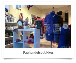 Faghandelsbutikker