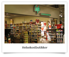 Helsekostbutikker